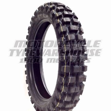 Picture of Dunlop D606 DOT Knobby 130/90-18 Rear