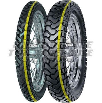 Picture of Mitas E07D PAIR DEAL 110/80-19 DAKAR + 140/80-17 DAKAR *FREE*DELIVERY* *SAVE*$40*