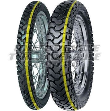 Picture of Mitas E07D PAIR DEAL 90/90-21 DAKAR + 140/80-17 DAKAR  *FREE*DELIVERY* *SAVE*$35*
