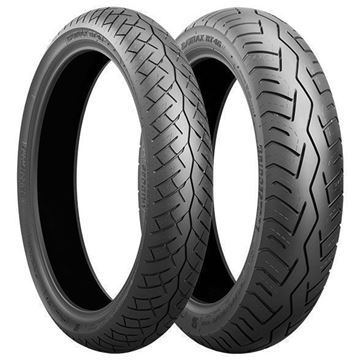 Picture of Bridgestone BT46 PAIR 100/90-19 + 130/80-18 *FREE*DELIVERY*