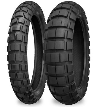 Picture of Shinko E804/805 PAIR 110/80R19 + 150/70R17 *FREE*DELIVERY*