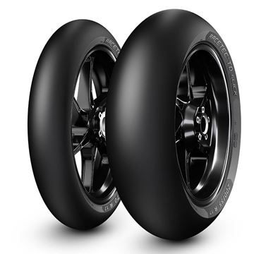 Picture of Metzeler Racetec TD Slick PAIR DEAL 120/70R17 + 180/60R17 *FREE*DELIVERY*