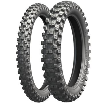 Picture of Michelin Tracker PAIR DEAL 80/100-21 + 100/100-18 *FREE*DELIVERY*