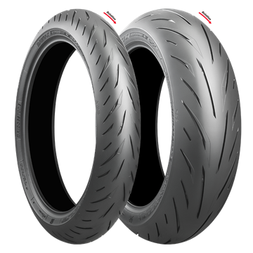 Picture of Bridgestone S22 PAIR DEAL 110/70R17 + 150/60R17 *FREE*DELIVERY* *SAVE*$40*