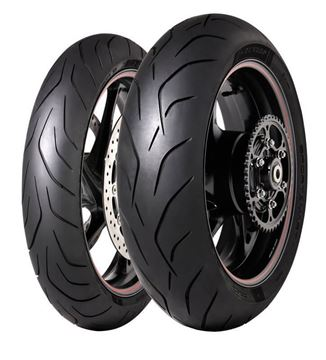 Picture of Dunlop Sportsmart MK3 PAIR DEAL 120/70ZR17 + 180/55ZR17 *FREE*DELIVERY* *SAVE*$45*